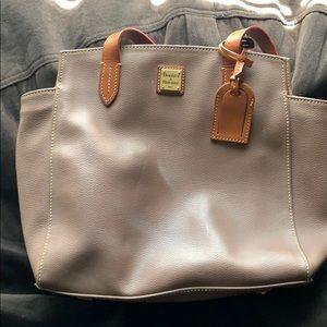 Brown Dooney and Bourke shoulder bag